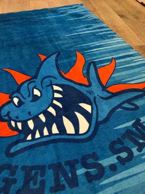 asciugamani personalizzati con logo
